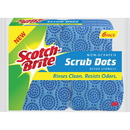 Scotch-Brite Scrub Dots Non-Scratch Sponge, MMM203064