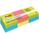 Post-it 2x2 Ultra Colors Convenient Memo Cubes, Repositionable, Self-adhesive - 2