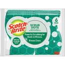 Scotch-Brite Scrub Dots Heavy-duty Scrub Sponge, MMM303064