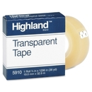 Highland Transparent Tape, 0.75
