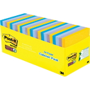 Post-it New York Collection Post-it Super Sticky Notes, MMM65424SSNYCP