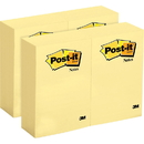 Post-it Canary Yellow Original Note Pads, MMM659YWBD