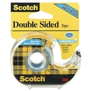 Scotch Double Sided Tape with Handheld Dispenser, 0.75