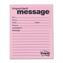 Post-it Telephone Message Pad, 50 Sheet(s) - 3.87