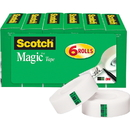Scotch Invisible Magic Tape, MMM810K6BD