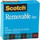 Scotch Removable Paper Tape, 0.75