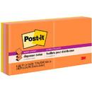 Post-it Super Sticky Jewel Pop Pop-up Refills, Self-adhesive, Repositionable - 3