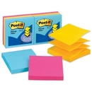 Post-it Pop-Up Ultra Color Refill Note, Pop-up, Self-adhesive, Repositionable - 3