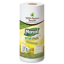 Marcal Small Steps Recycled Roll Paper Towels, 2 Ply - 60 Sheets/Roll - 15 / Carton - 11