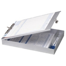 OIC Aluminum Storage Clipboard, 1