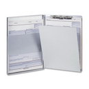 OIC Aluminum Storage Clipboard, 30 Storage - Side Opening - 8.50