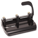 OIC Heavy-Duty Adjustable 2-3 Hole Punch, 3 Punch Head(s) - 32 Sheet Capacity - 9/32