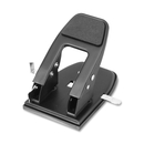 OIC Heavy-Duty Two-Hole Punch, 2 Punch Head(s) - 50 Sheet Capacity - 1/4