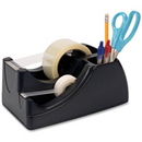 OIC Recycled Heavy-duty Tape Dispenser, Holds Total 2 Tape(s) - Black