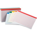 Oxford Color-Coded Bar Ruling Index Card