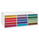 Pacon Classroom Keepers 15 Compartments Construction Paper Storage, 8.5