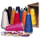 Pacon Double Weight Yarn Cones, Assorted