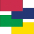 Fadeless Primary Colors Bulletin Art Paper, PAC57532