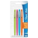 Paper Mate Flair Point Guard Pen, Assorted Ink - 4 / Pack