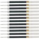 Pentel EnerGel Retractable .7mm Liquid Pen Refills, PENLRN7ABX