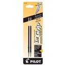 Pilot Dr. Grip & BPS Retract Ballpoint Pen Refill, 1 mm - Black - 2 / Pack