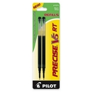 Pilot Precise V5RT Rolling Ball Refill, 0.50 mm - Black - 2 / Pack