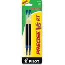 Pilot Precise V5RT Rolling Ball Refill, 0.50 mm - Blue - 2 / Pack