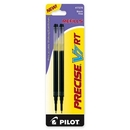 Pilot Precise V7RT Rolling Ball Refill, 0.70 mm - Black - 2 / Pack