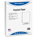 PrintWorks Professional 43-Hole Pre-Punched Spiral Coil Paper for Presentations, Booklets & More, PRB04144