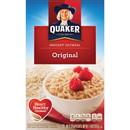 Quaker Oats Foods Instant Oatmeal