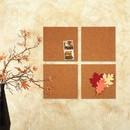 Quartet Cork Tile or Roll Bulletin Board, 12