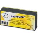 Quartet Dry Erase Board Eraser, Washable - Charcoal Gray - Cloth