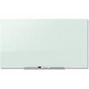 Quartet InvisaMount Magnetic Glass Dry-Erase Board, QRTG7442IMW