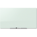 Quartet InvisaMount Magnetic Glass Dry-Erase Board, QRTG8548IMW