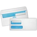 Quality Park Redi-Seal 2 Window Envelopes, Double Window - #9 (8.88