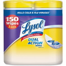 Lysol Dual Action Cleaning Wipes