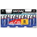 Rayovac Alkaline D Batteries, RAY8138LKCT