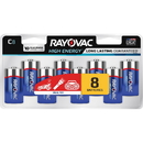 Rayovac Alkaline C Batteries, RAY8148LK