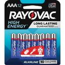 Rayovac Alkaline AAA Batteries, RAY82412K