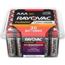 Rayovac Fusion Alkaline AAA Batteries, RAY82430PPTFUSK