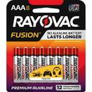 Rayovac Fusion Alkaline AAA Batteries, RAY8248TFUSK
