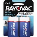 Rayovac Alkaline 9 Volt Battery, RAYA16044TK