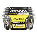 Rayovac Ultra Pro Alka AA24 Batteries, RAYALAA24PPJCT