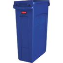 Rubbermaid Commercial Venting Slim Jim Waste Container, RCP1956185