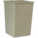 Rubbermaid Commercial 35-gal Untouchable Sqre Container, RCP395800BG