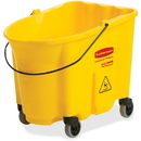 Rubbermaid Commercial 35-qt WaveBrake Mop Bucket, RCP757088YE