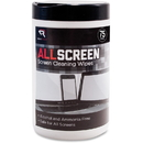 Advantus Read/Right AllScreen Screen Cleaning Wipes, REARR15045