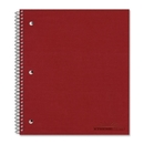 Rediform National The Stuffer Wirebound Notebook, 100 Sheet - 16 lb - College Ruled - 8.88