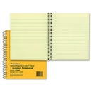 Rediform National Brown Board Cover Notebook, 80 Sheet - 16 lb - Legal/Narrow Ruled - 6.88
