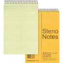 Rediform National Steno Notebook, 80 Sheet - 16 lb - Gregg Ruled - 6